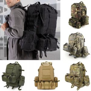 50L Outdoor Backpack Molle Military Tactical Backpack