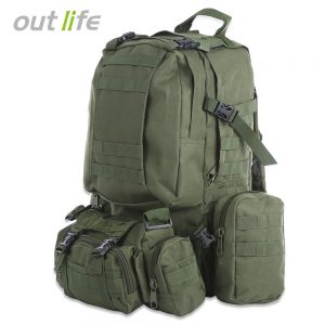 50L Military Backpack Molle Tactical Backpack