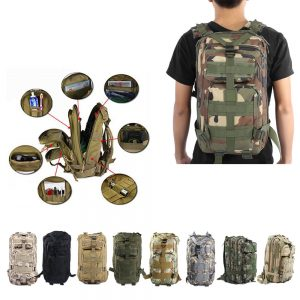 30L Unisex Outdoor Military Army Tactical Backpack