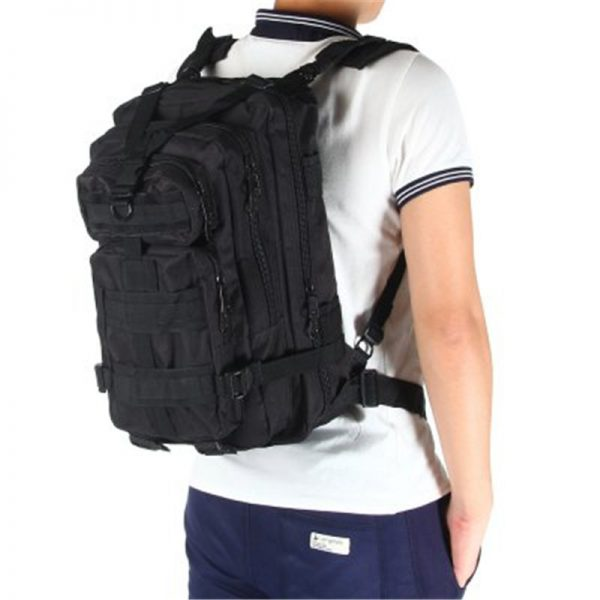 "Military Bag Army Tactical Outdoor Backpack for Laptop 14"" 25L"