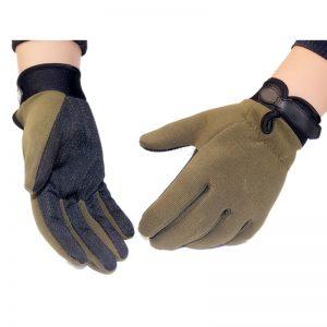 High Quality Tactical Anti-Slip Full Finger Gloves