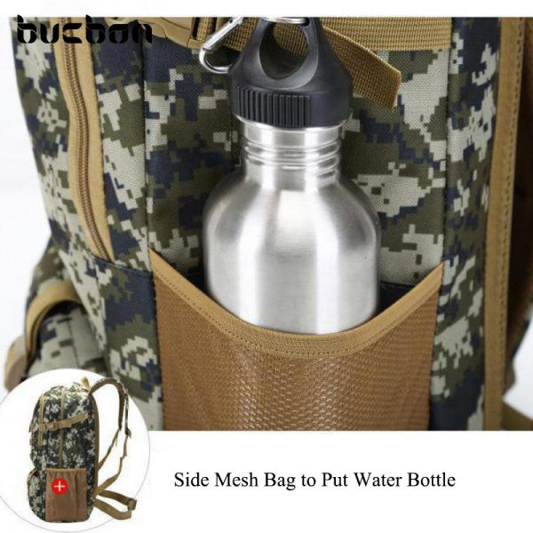 """Camo Tactical Backpack for Laptop 14"""" Military Army 50L 4"""