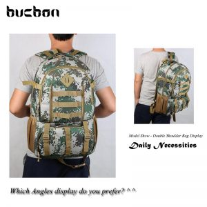 Camo Tactical Backpack for Laptop 14