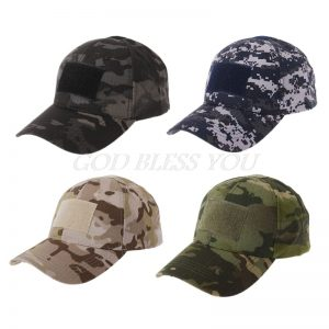 Military Tactical Camo Cap Army Baseball Hat