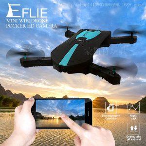 ELFIE WiFi Quadcopter Mini Foldable Drone 1