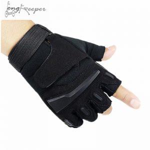 Tactical Gloves Unisex Half Finger