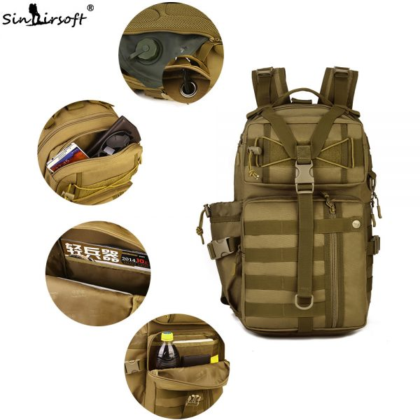 Outdoor Tactical Backpack 30L for Laptop 3