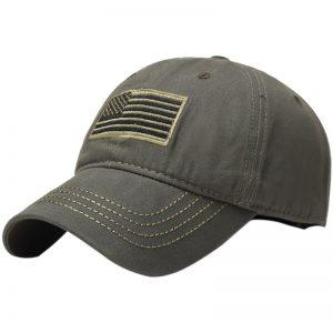 Hiking Hat Army Baseball Military Flag Cap