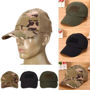 Adjustable Camouflage Unisex Tactical Hat
