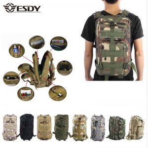 Military Tactical Backpack 30L