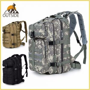 Waterproof Military Tactical Assault Molle Backpack 35L