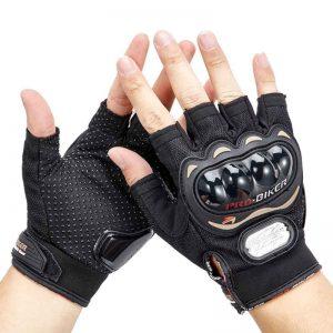 Fiber Bike Bicycle Training Tactical Gloves Half Finger