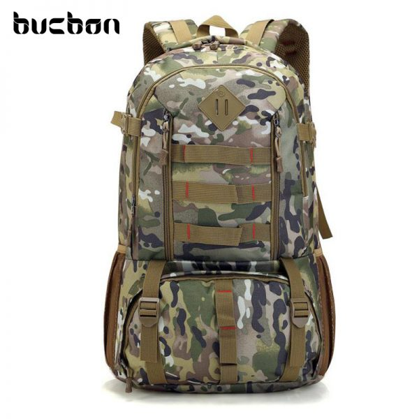 """Camo Tactical Backpack for Laptop 14"""" Military Army 50L 1"""