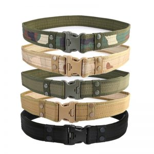 Airsoft Military Tactical Belt Adjustable Waistband 72cm-113cm