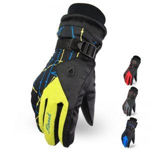 Outdoor Men and Women Mountain Ski Hiking Waterproof Gloves