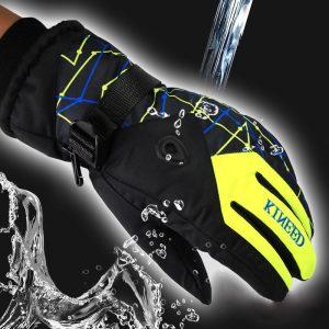 Outdoor Men and Women Mountain Ski Hiking Waterproof Gloves 1