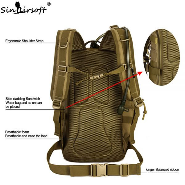 Outdoor Tactical Backpack 30L for Laptop 4