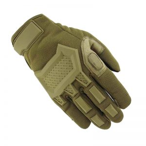 Touch Screen Tactical Rubber Hard Knuckle Full Finger Gloves 1