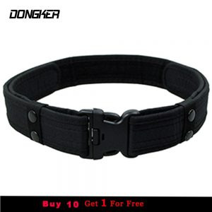 2 Inch Canvas Duty Tactical Sport Belt with Plastic Buckle