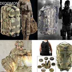 25L Outdoor Military Tactical Backpack